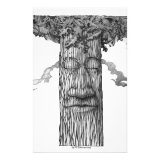 A Mighty Tree Cover &W Stationery