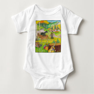 A-MIGHTY-TREE-P56 BABY BODYSUIT