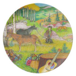 A-MIGHTY-TREE-P56 DINNER PLATES