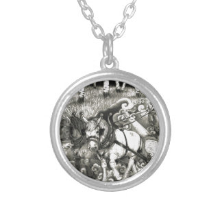 A MIGHTY TREE Page 14 Orig. Silver Plated Necklace