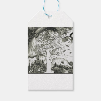A MIGHTY TREE Page 2 Pack Of Gift Tags