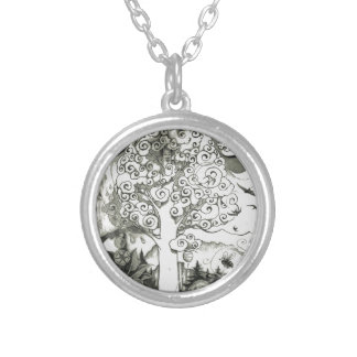 A MIGHTY TREE Page 2 Silver Plated Necklace