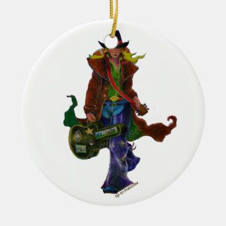A-Mighty-Tree-Page-44 Round Ceramic Ornament