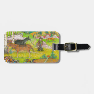 A MIGHTY TREE Page 56 Luggage Tag