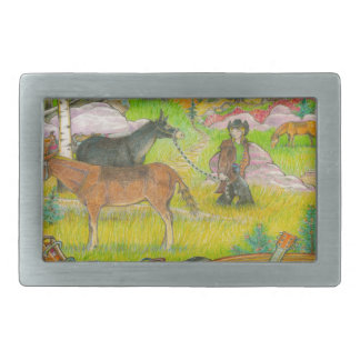 A MIGHTY TREE Page 56 Rectangular Belt Buckle