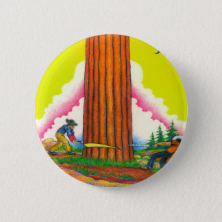 A MIGHTY TREE Page 8 2 Inch Round Button