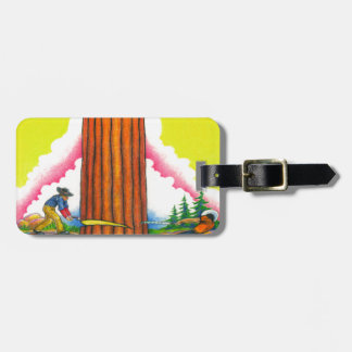 A MIGHTY TREE Page 8 Luggage Tag