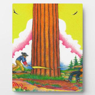 A-MIGHTY-TREE-Page 8 Original Plaque