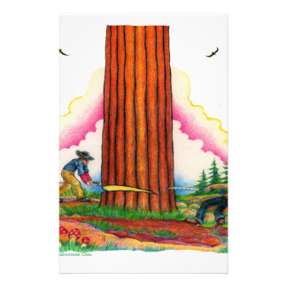 A Mighty Tree Page 8 Stationery