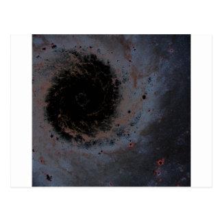 A Milky Galaxy Postcard