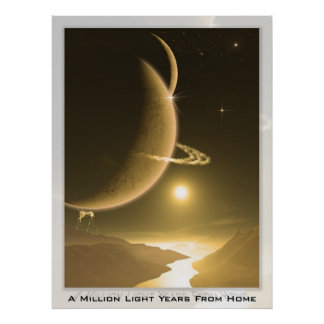 A Million Light Years from Home Poster