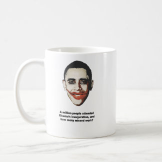 A million people attended Obama's inauguration Coffee Mug