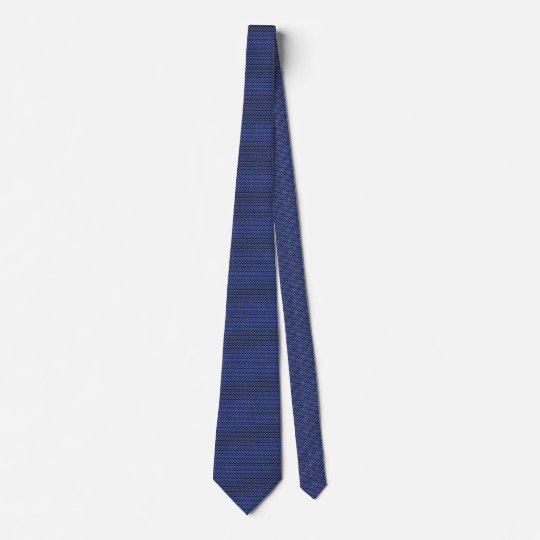 A MillionTiny Thin Blue Line Buttons Tie