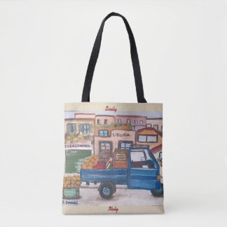 A mini market truck - All-Over Print Tote Bag