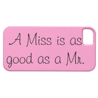 A Miss is as Good as a Mr. iPhone 5 Covers