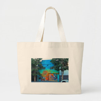 A Mission District Mural II Large Tote Bag