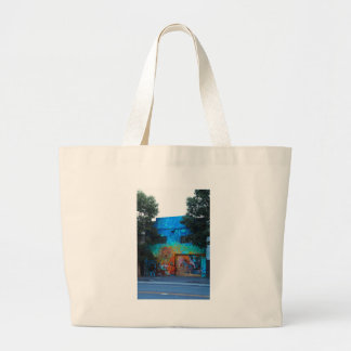 A Mission District Mural III Large Tote Bag