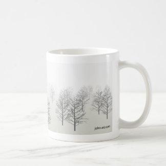 a misty morning coffee mug