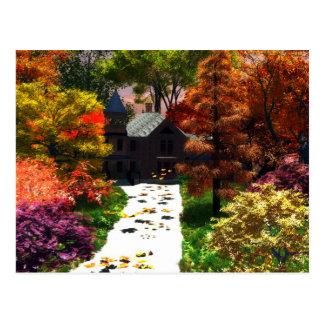 A Moment Of Autumn Postcard