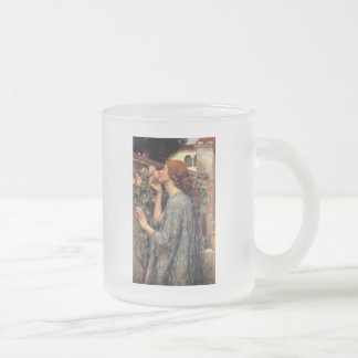 A Moment Of Peace Frosted Glass Coffee Mug