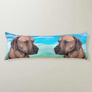 A Moment with Jedd (Ridgeback) Body Pillow