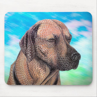 A Moment with Jedd (Ridgeback) Mouse Pad