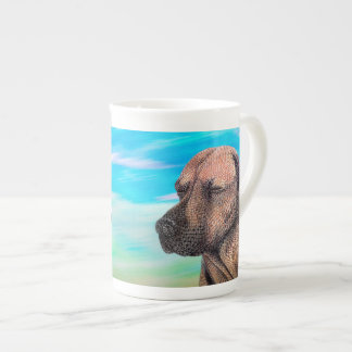 A Moment with Jedd (Ridgeback) Tea Cup