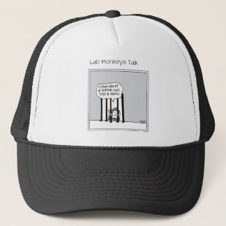 A monkey muses.png trucker hat