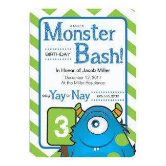 A Monster Birthday Bash Card
