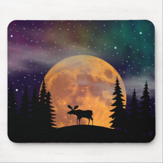 A Moose on the Loose Mouse Pad