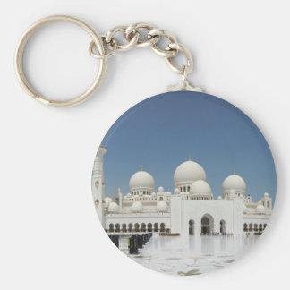 A Mosque in Abu Dhabi Keychain
