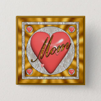 A Mothers Heart Buttons
