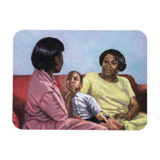 A Mother's Strength 2001 Magnet