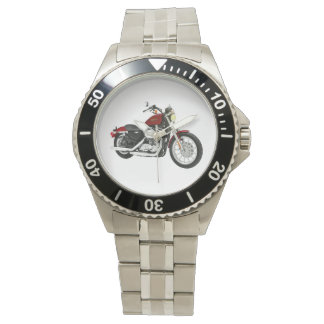 A Motorcycle Wrist Watch