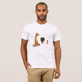 A Mouse, Fox & Owl T-Shirt