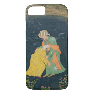 A Mullah bowing down to a man in Iranian dress who iPhone 7 Case