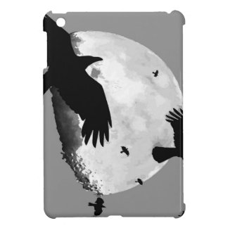 A Murder Of Crows And Moon iPad Mini Case