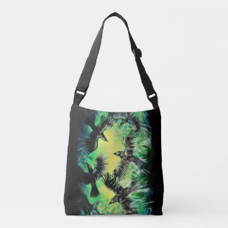 A Murder of Crows Crossbody Bag