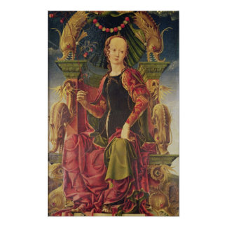 A Muse, c.1455-60 Posters