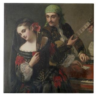 A Music Lesson, Seville Tile