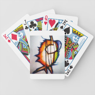 A Music you Can Feel and See Bicycle Playing Cards