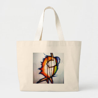 A Music you Can Feel and See Large Tote Bag