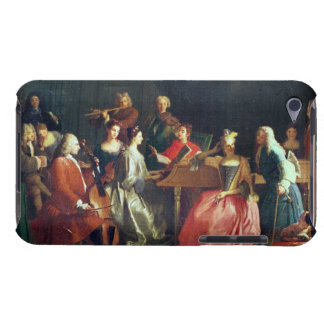 A Musical Evening (oil on canvas) iPod Case-Mate Cases