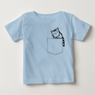 A must for kids who love kittens... baby T-Shirt