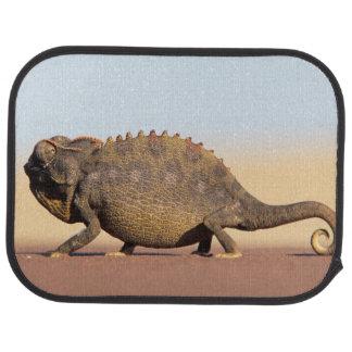 A Namaqua Chameleon walking across a sandy plain Car Carpet
