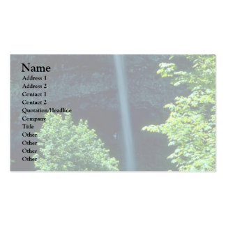 A Narrow Fall Business Card Template