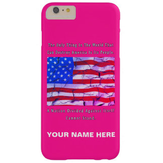 A Nation Divided Barely There iPhone 6 Plus Case