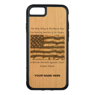 A Nation Divided Carved iPhone 8/7 Case