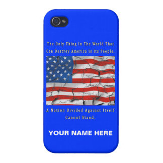 A Nation Divided Case For iPhone 4