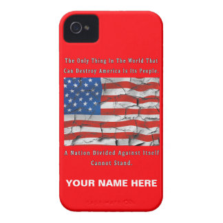 A Nation Divided Case-Mate iPhone 4 Case